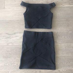 Guess skirt + top set